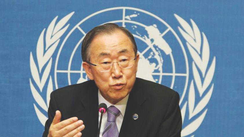UN's Ban Ki-Moon Caves In, Takes Israel Off List of ...